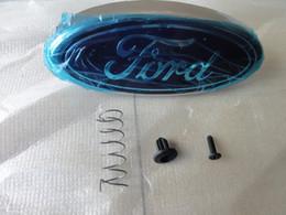 ford Logotipo de la insignia de la parrilla delantera emblema es adecuado para FORD FOCUS 2 2009-2014 modelo de coche