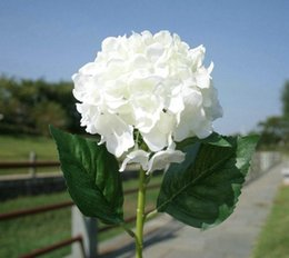 Good quality artificial flowers online artificial flowers hydrangea artificial hydrangea flower home party decorative flowers good quality silk artificial flower home decoration free shipping mightylinksfo Gallery