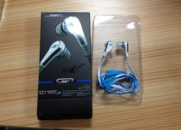 SmS audio earphoneS online shopping - 50 Cent SMS audio mini cent in earphone headphone Earbuds with Microphone STREET by CENT with retail pack for iphone Samsung
