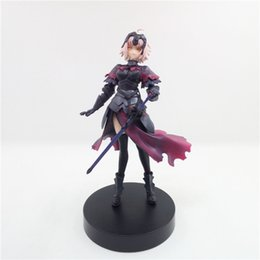 Japanese anime girl figures online shopping - Suzannetoyland sexy girl cm Japanese Anime Action figure Fate stay Night model Toy Gift Doll