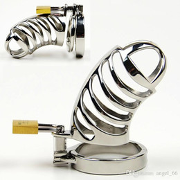 Chastity Cage Sex Toys Canada - New Male Chastity Belt Chastity Cage Cock Cage Penis Ring Cock Rings BDSM Toys Bondage Gear Chastity Devices Adult Sex Toys For Men