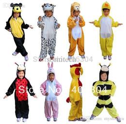 Wholesale Free Shippingbearmickey MouseduckbeefrogcrocodilemonkeypandacowdogCosplay Children Animal Costume For Kid30styles