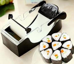 Sushi Rolling Machine Canada - DIY Sushi Roller Machine Bento Roll Maker Easy Kitchen Cooking Tools (Color: Black)