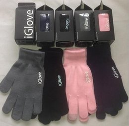 Iglove screen touch online shopping - Unisex Iglove Touch Screen Gloves Winter Finger Gloves for Smart Phones Ipad for Christmas Gifts color KKA3444