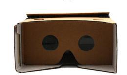 "$enCountryForm.capitalKeyWord Canada - DIY Google Cardboard Virtual Reality VR Mobile Phone 3D Viewing Glasses for 5.0"" Screen Google VR 3D Glasses"