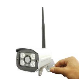 Night Weatherproof Security Camera UK - HD 720P 1.0MP Wirelass Wifi IP Camera Weatherproof  Camera Network outdoor Security Camera 4IR Night Vision