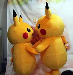 $enCountryForm.capitalKeyWord Canada - 2015Top Grade Deluxe Pikachu Mascot Costume Cartoon Character Costumes Mascot Costume Fancy Dress Party Suit