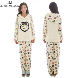 c045eb09f6 Sexy Flannel Pajamas NZ - Autumn Winter Pajamas Sets Women Floral Plush Flannel  Sleepwear Warm Clothing