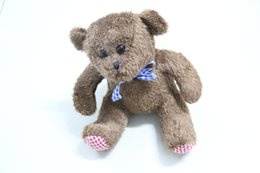 $enCountryForm.capitalKeyWord Canada - High quality Low Price Three Colors 20cm Cute Teddy Bear Plush Toy Doll birthday And Christmas gifts M031