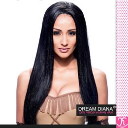 LuLa human hair online shopping - Grade a Peruvian Virgin Hair Straight Bundles Ms Lula Hair Tissage Bresilienne Human Hair Virgin Peruvian Hair Bundles Mocha Hair