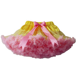 $enCountryForm.capitalKeyWord Australia - Yellow Pink Baby Girls Tutu Skirt Fluffy Children Ballet Kids Pettiskirt Baby Girl Skirts Princess Tulle Party Dance Skirts For Girls