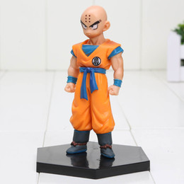 11cm Anime Dragon Ball Z Krillin Action Figure 1 8 Scale Painted Figure Kuririn Doll Pvc Acgn Figure Brinquedos With Color Box Anime Scale Figures For Sale