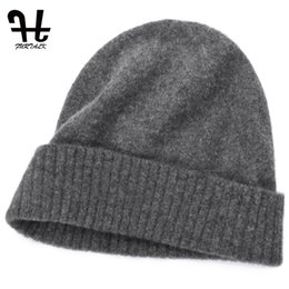 822f4ad9a961cb Furtalk Unisex Mens Winter Knitted 100 %Wool Warm Hat For Women Daily Slouchy  Hats Beanie Skull Cap Casual Skullies Beanies