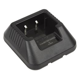 Li-Ion Akkuladegerät Adapter für BaoFeng 5R Serie Dual Band Funkgerät Walkie Talkie mit Ladeanzeige SEC_051
