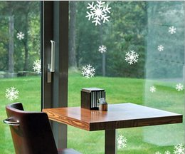$enCountryForm.capitalKeyWord NZ - Free shipping 1 sheets of stickers Hotel shopping glass sliding door shop window new year christmas snowflake stickers TY456