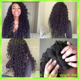 $enCountryForm.capitalKeyWord Canada - JK Brazilian Virgin Hair Deep Wave Glueless Full Lace Human Hair Wigs Celebrity Style 8-26 Body Wave Lace Front Wigs
