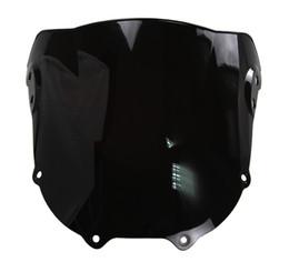 $enCountryForm.capitalKeyWord UK - Motorcycle Double Bubble Windshield WindScreen For 1994-1997 Honda CBR900RR CBR 900 RR 893 94 95 96 97 1995 1996 Black