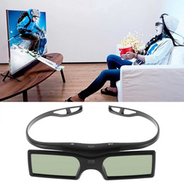 China 2015 New Bluetooth 3D Glasses LCD lens Shutter Active Glass Google Cardboard for Samsung LG Panasonic 3D TV HDTV Blue-ray Player cheap active shutter 3d glasses suppliers