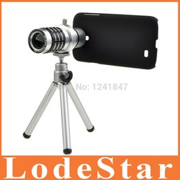 Iphone Telescope 12x Canada - Wholesale-New mobile phone 12X Zoom telescope Lens for Iphone 6 5s 4 Samsung Galaxy S6 S4 i9500 Optical Zoom Manual Focus Telephoto Lens