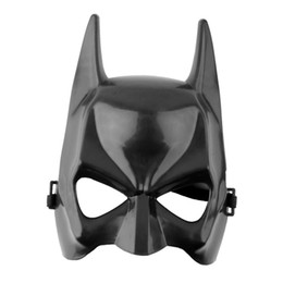 Wholesale Fashion Halloween Black Mask Masquerade Party Masks Batman Face Costume Masks Animated cartoon show mask TY938