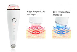 $enCountryForm.capitalKeyWord Australia - Ultrasonic Hot Cold Hammer Vibration SPA Face Eye Massager LED Photon Rechargeable Beauty Skin Care Anti Lines Wrinkles Portable Home Use