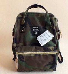 New 2017 Anello Japan Stripe Handle Backpack Unisex Travel Laptop Campus  Rucksack Canvas School Bag Mommy Backpacks Waterproof Bags Cheap e57e4bd91acc0
