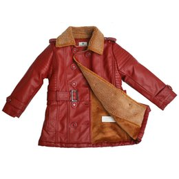 $enCountryForm.capitalKeyWord Canada - causal kids jacket coat coral velvet leather jacket coat for 2-8yrs children boys girls students outerwear warm leather clothes