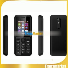 Tft Speakers NZ - 1.77Inch Cheap senior cell Phone Dual SIM Big Keyboard Loud Speaker Color Screen TFT FM Long Standby Quad Band Phone for Student,Old,105