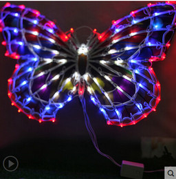Outdoor lights Decorative lights clothing store window decoration lights wedding bows activities Decoration 50CM big butterfly & Big Outdoor Christmas Lights Online Shopping | Big Outdoor Christmas ...