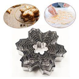 $enCountryForm.capitalKeyWord NZ - Wholesale- 9pocs set Stainless Steel Snowflake Fondant Cake Molds Cookie Cutter Set Baking Decorating Tools Diy