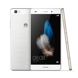 Wholesale Huawei P8 Lite inch G LTE Mobile Phones HiSilicon Kirin Octa Core G ROM G RAM MP Smartphone
