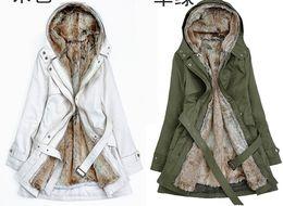 Discount Ladies Fur Lined Winter Coats White | 2017 Ladies Fur ...