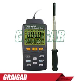 Discount large telescopes - Tenmars TM-4002 Hot Wire Anemometer  Air flow volume Large LCD display Air Velocity Meter Fast response telescoping prob