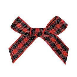 $enCountryForm.capitalKeyWord UK - 6mm Gingham ribbon bow,Gift packaging, garment accessories, DIY accessories 100pcs