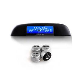 Victon TPMS автомобильных шин Система контроля давления с 4 внешних датчиков высокого качества TPMS для вашей безопасности поддержки BAR и PSI