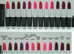 $enCountryForm.capitalKeyWord Canada - 24 PCS FREE SHIPPING 2016 Best - Selling NEW MAKEUP LIPSTICK 3G NAME AND NUMBER