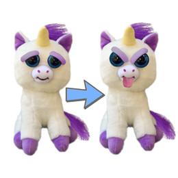 Funny Toy Stuffed Animals Canada - 14 Styles Christmas Gift Feisty Pets Change Face Stuffed Animal Doll Plush Toys With Funny Expression For Kids Cute Prank toy Hot Sale