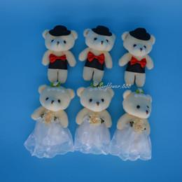 ec2f73f567 Wedding Dolls Couples Canada - Pair Wedding Teddy Bear Plush Toys Stuffed  Dolls Couple Bear Birthday
