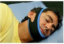 $enCountryForm.capitalKeyWord NZ - Neoprene Adjustable Stop Snoring Chin Strap Snore Belt Anti Apnea Jaw Solution Sleep TMJ Support 10pcs lot Free Shipping