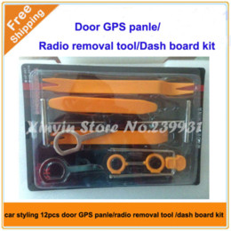 $enCountryForm.capitalKeyWord Canada - Free shipping 12pcs in 1 Car Panel Dash GPS Navi Audio Stereo Molding Removal Install Tool Kit
