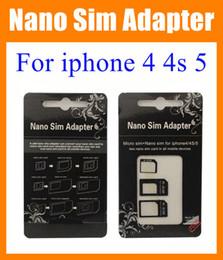 $enCountryForm.capitalKeyWord Canada - Nano Sim Adapter Micro SIM Nano Sim for iphone 4 4s iphone 5 dual Sim card tray holder R-sim + nano sim adapter + micro sim adapter OTH023