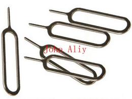 Бесплатная доставка SIM-карты Tray Eject Epson Pin Removal Tools Key для Apple iPad iPhone 4 4S 5 5s для Apple Iphone 6