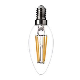 $enCountryForm.capitalKeyWord UK - NEW filament led bulb E14 E12 2W 4W dimmable chandelier LED candle lamp Warm  Cool White Light AC110V-240V candle Light bulbs