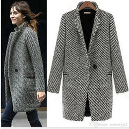 Discount Plaid Wool Coats For Women | 2017 Plaid Wool Coats For ...
