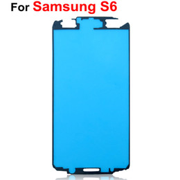 $enCountryForm.capitalKeyWord Australia - For Samsung Galaxy A3 A5 A7 S6 Front Frame Housing Pre-Cut Adhesive Glue Sticker Tape DHL EMS Free Shipping