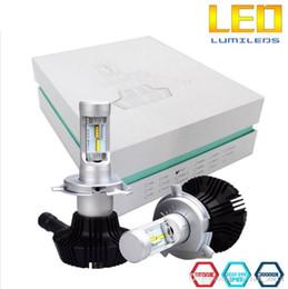 Car Lamp H13 White Australia - 2017 newes 7G Car Headlight Bulbs Kit Use Lumileds chips 8000lm Super Bright h4 h13 9007 h7 h11 9005 9006 80W White 6500K