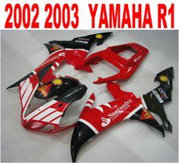 $enCountryForm.capitalKeyWord NZ - Customize injection fairings kit for YAMAHA R1 02 03 fairing body kits yzf r1 2002 2003 black red Santander motobike parts LQ49