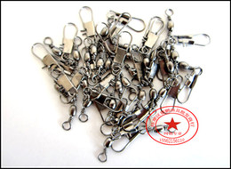 $enCountryForm.capitalKeyWord Canada - Connector Fishing swivel with snaps fishing tackle stainless steel fishing gear connector rolling swivel Fishing Accessories
