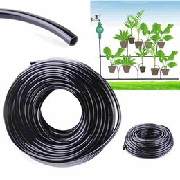 Drip System Hose NZ - High Quality 20 50m Watering Tubing Hose Pipe Mayitr 4 7mm Micro Drip Garden Irrigation System New Arrival