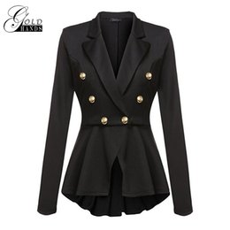 Wholesale Gold Hands Women Winter Trench Coat Long Sleeve Style Casual Overcoat Female Wide waisted Double breasted Outerwear Coats